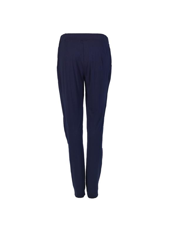 "T1618_BLUE_BACK-""Jovial"" Jersey Pants TIKTO TIKTOATHENS"